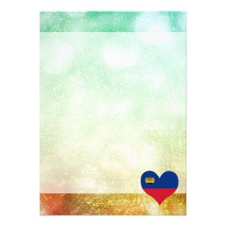 Härliga Liechtensteiner 12,7 X 17,8 Cm Inbjudningskort