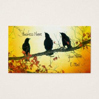 Härliga naturfåglar visitkort