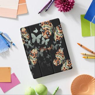 Härliga nyckfulla orientaliska fjärilar iPad skydd