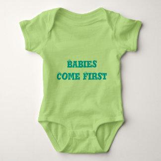Härliga unisex- baby Onesy Tshirts