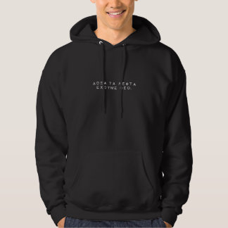 härlighet till pengar… har vi guden hoodie