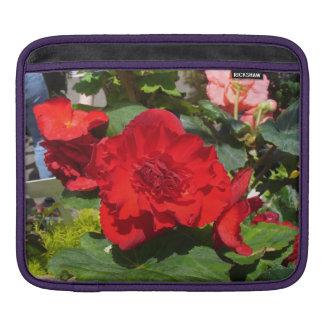 Härligt BegoniasiPadfodral Sleeve För iPads