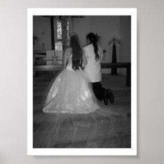 härligt bröllop affisch