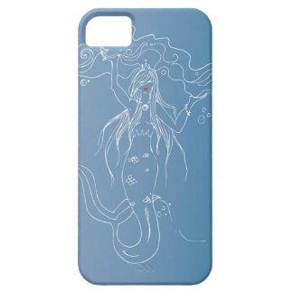 Härligt fodral för vitsjöjungfrutelefon iPhone 5 hud