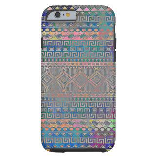 Härligt kallt färgglatt Aztec geometriskt mönster