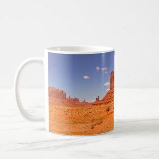 Härligt målad öken för Utah sten bildande Kaffemugg