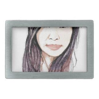 Härligt porträtt av en asiatisk kvinna