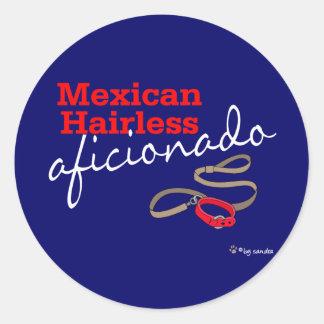 Hårlös mexikan runt klistermärke