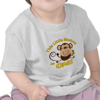 Härma lite den 1st T-tröja för födelsedagpojkespäd