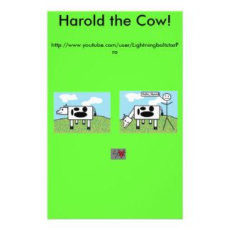 Harold kofliersna reklamblad 14 x 21,5 cm