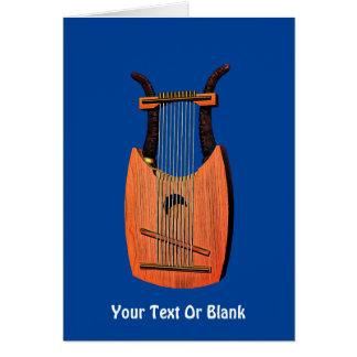 Harpa för kung Davids Hälsningskort