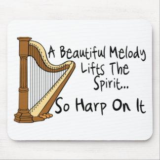 Harpa på den musmatta