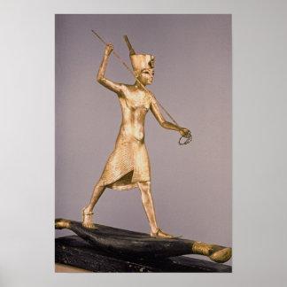 Harpooneren, från graven av Tutankhamun Poster