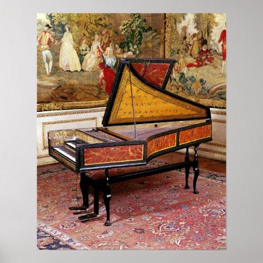 Harpsichord 1634 affisch