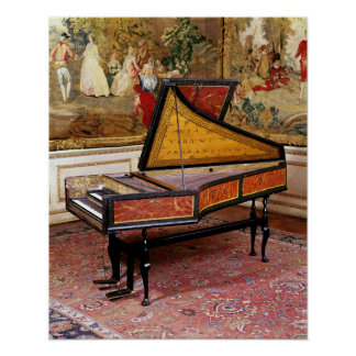 Harpsichord 1634 poster