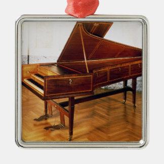 Harpsichord som hör hemma till Franz Joseph Haydn Julgransprydnad Metall