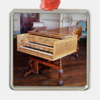 Harpsichord vid Jacob Kirckman, engelska, 1766 Julgransprydnad Metall
