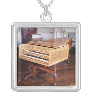 Harpsichord vid Jacob Kirckman, engelska, 1766 Silverpläterat Halsband