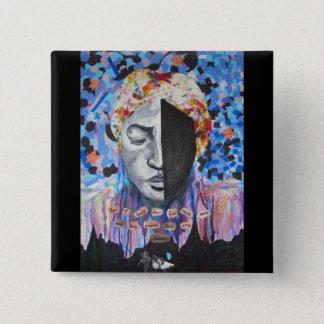 Harriet Tubman - svart historia knäppas Standard Kanpp Fyrkantig 5.1 Cm