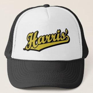 Harris i guld truckerkeps
