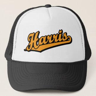 Harris i orange truckerkeps