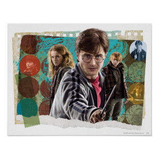 Harry, Hermione och Ron 1 Poster