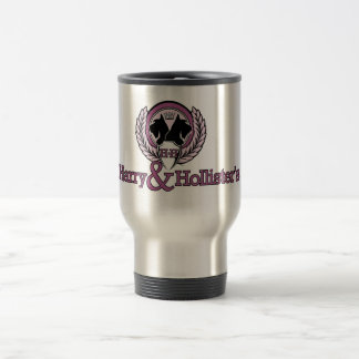 Harry & Hollisters logotyptravel mug Resemugg