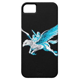 Harry och Hermione på en Hippogriff iPhone 5 Cases