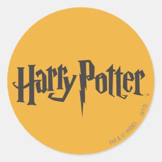 Harry Potter 2 Rund Klistermärke