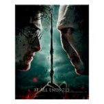 Harry Potter 7 del 2 - Harry vs. Voldemort Affisch