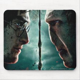 Harry Potter 7 Part 2 - Harry vs. Voldemort Mousepads
