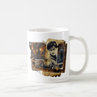Harry Potter Collage 7 Vit Mugg