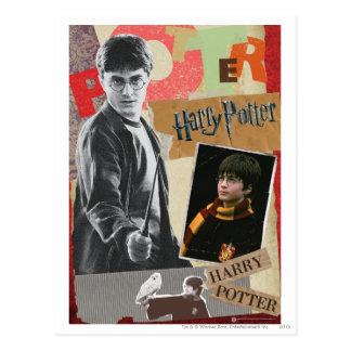 Harry Potter därefter och nu Vykort