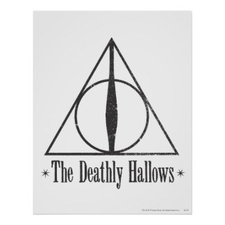 Harry Potter | det Deathly Hallows emblemen Poster