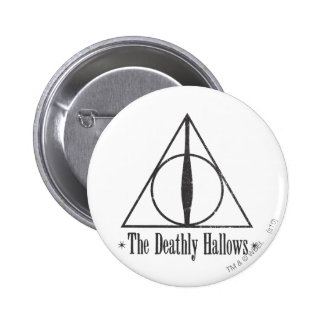 Harry Potter | det Deathly Hallows emblemen Standard Knapp Rund 5.7 Cm