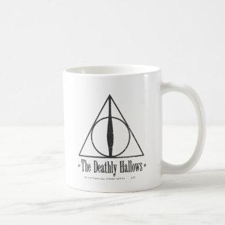 Harry Potter | det Deathly Hallows emblemen Vit Mugg