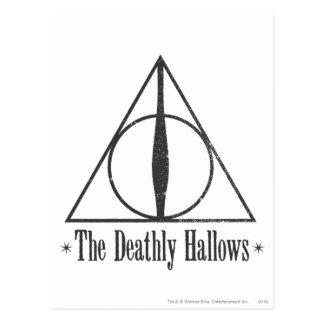 Harry Potter | det Deathly Hallows emblemen Vykort