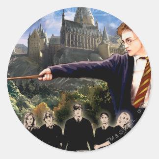 Harry Potter Dumbledores armé 3 Rund Klistermärke