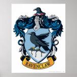 Harry Potter | gotisk Ravenclaw vapensköld Poster