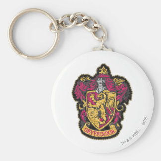 Harry Potter | Gryffindor husvapensköld Rund Nyckelring