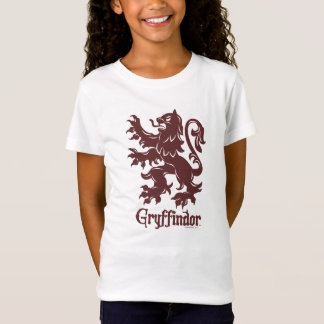 Harry Potter | Gryffindor lejont grafiskt Tee Shirts