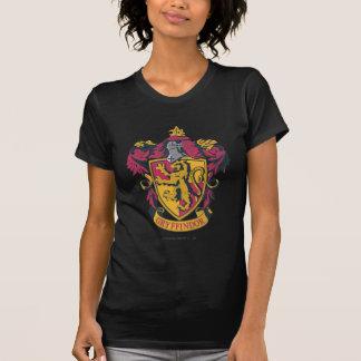 Harry Potter | Gryffindor vapensköldguld och rött Tee Shirt