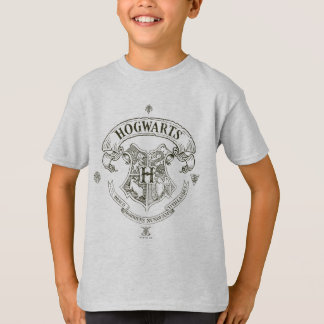 Harry Potter | Hogwarts banervapensköld Tshirts
