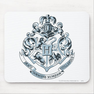 Harry Potter | Hogwarts vapensköld - blått Musmattor