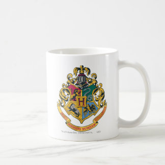 Harry Potter | Hogwarts vapensköld - full färg Kaffemugg