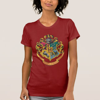 Harry Potter | Hogwarts vapensköld - full färg T Shirts