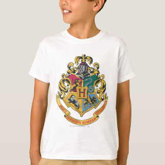 Harry Potter | Hogwarts vapensköld - full färg Tee Shirts