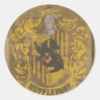 Harry Potter | Hufflepuff Runt Klistermärke