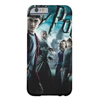 Harry Potter med Dumbledore Ron och Hermione 1 Barely There iPhone 6 Fodral