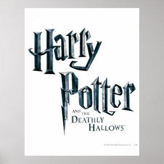 Harry Potter och det Deathly Hallows logotyp 1 Poster